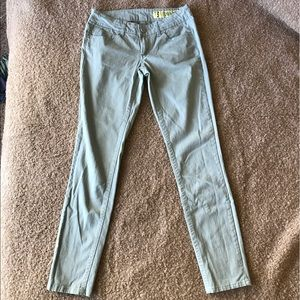 Indigo Rein Pants - 🍍Indigo Rein mint skinny pants (Juniors)