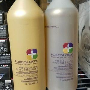 pureology  precious shampoo & conditioner 33.8oz