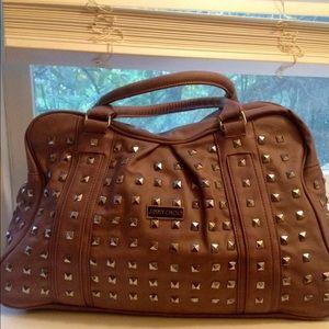 Handbags - Purple Studded Handbag