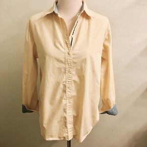 Tommy Hilfiger Tops - Yellow Tommy Hilfiger button up blouse