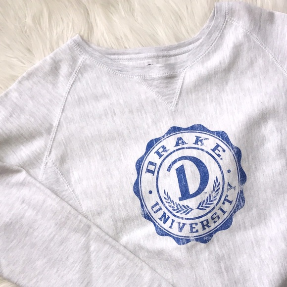 e2676388 Champion Tops | Vintage 80s Drake Gray Sweatshirt | Poshmark