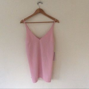 Fifteen Twenty Pink High Silk Tank