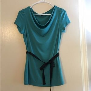 East 5th Tops - ⭐️MAKE AN OFFER! MOVING!⭐️ Blue cowl neck top