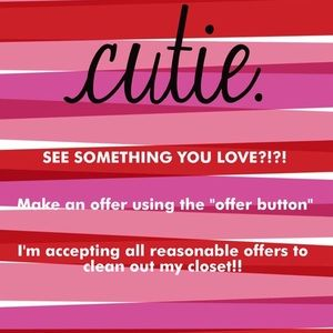 Other - 💜Accepting All Reasonable Offers!!💜