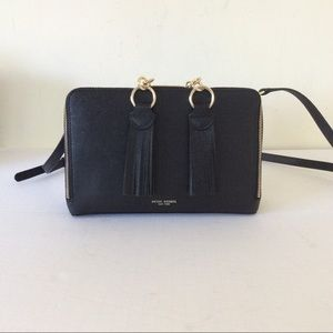 Henri Bendel Black Cross Body