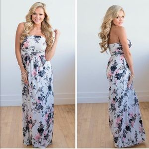 Dresses & Skirts - Gail Floral Print Maxi Dress