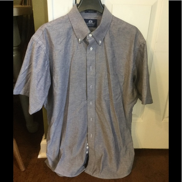 83 off stafford other 16 1 2 neck stafford chambray for Where to buy stafford dress shirts