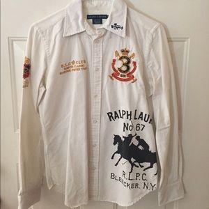 Ralph Lauren Rare white Oxford