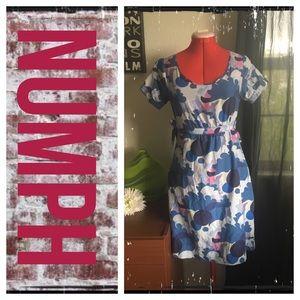 Numph Dresses & Skirts - Numph floral silk blend spring dress
