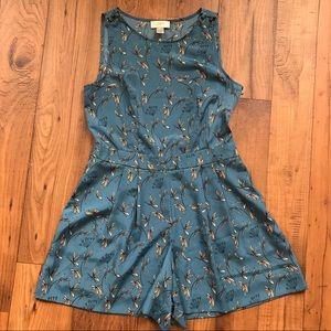 LOFT Other - Ann Taylor Loft Blue Floral Romper