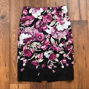 White House Black Market Dresses & Skirts - White House Black Market Floral Pencil Skirt