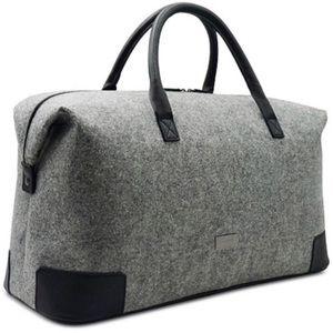 Hugo Boss Handbags - Hugo boss travel luggage bag purse men gray