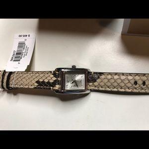 Michael Kors Accessories - ‼️PRICE DROP ‼️ NWT MK Snake skin watch