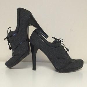 "Stuart Weitzman Shoes - Stuart Weitzman for Neiman Marcus Wool ""Shooties"""