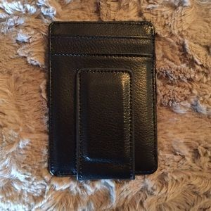 Thirty-One Other - Leather Money Clip Wallet