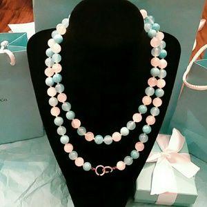 Retired Tiffany & Co. Multi Gemstone Bead Ncklace