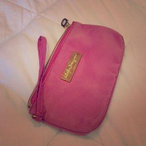 "Salvatore Ferragamo Handbags - Salvatore Ferragamo pink make-up bag. 7.5"" X 4""."