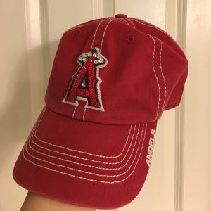 47 Accessories - 47 Brand Anaheim Angels bling rhinestone hat