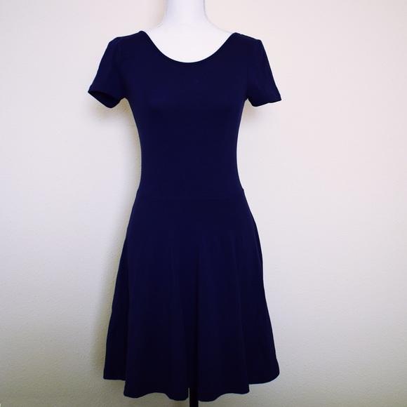 12f2755de7e4 Nordstrom Dresses | Nwot Bp Navy Skater Dress | Poshmark