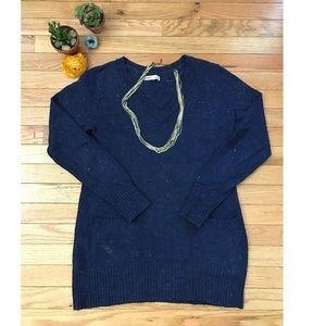 Navy, Light Spring Sweater