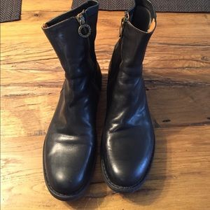 Fiorentini + Baker Shoes - Fiorentini + Baker Eternity Side Zip Flat Booties