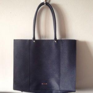 Rebecca Minkoff large MAB tote dark blue