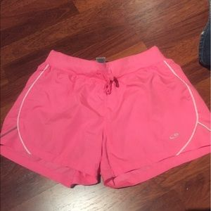 Pink gym shorts Sz Small