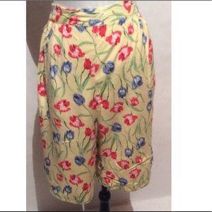Yellow Vintage Shorts Size 2X