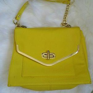Yellow Olivia + Joy purse