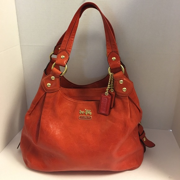 Coach Handbags - Coach Maggie Madison leather 3 compartment hobo b1348d735eac3