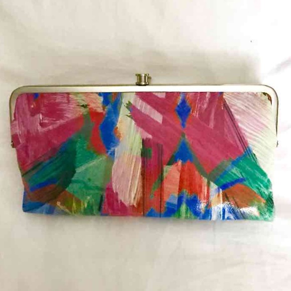 Hobo Bags Lauren Double Frame Leather Wallet Poshmark