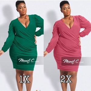Two NEW WITH TAGS dresses by Monif C