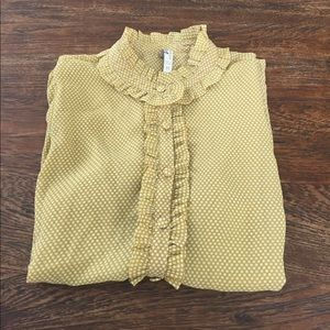 Fossil Tops - SO CUTE fossil button down blouse sz M