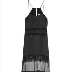 Self Portrait Dresses & Skirts - Self Portrait Orla Black Panel Maxi Dress- US6