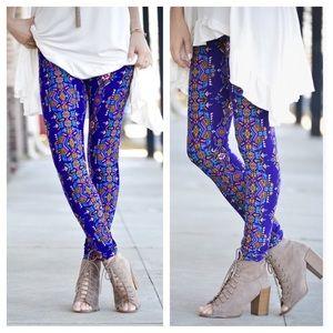 ✨New! Aztec Print Leggings by Infinity Raine💦