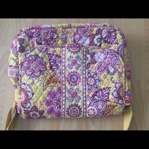 Handbags - Vera Bradley Bali Gold Messenger Laptop Bag