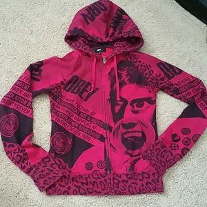 Obey Sweaters - Obey hoodie very rare