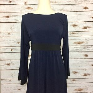 Laundry by Design Dresses & Skirts - Laundry by Design Navy Bell Sleeve Career Dress