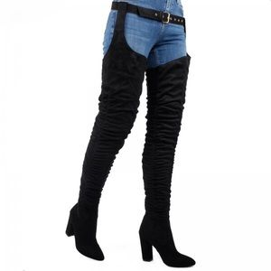 EGO Thigh High RiRi boots