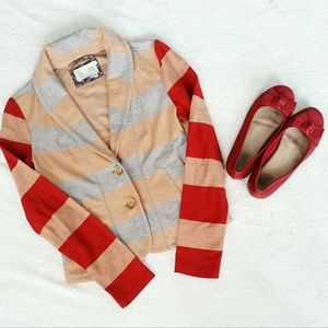 Anthropologie Sweaters - Anthropologie Saturday Sunday Striped Cartigan