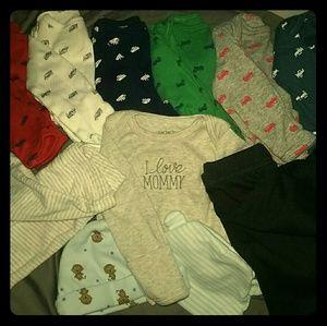 Carter's Other - Carter's NB Wardrobe Bundle