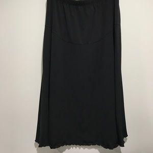 duo Maternity Dresses & Skirts - 🍼Medium Maternity Black Skirt EUC