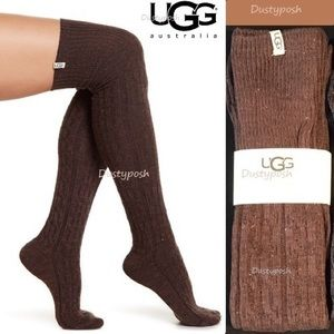 UGG Over The Knee Socks Cable Thigh High OTK New
