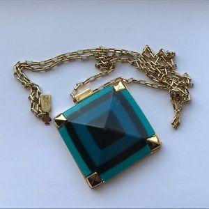 Kate Spade Jewelry - Kate Spade metallic pyramid hill necklace 12k
