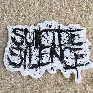 Suicide Silence Sticker