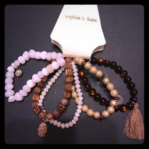 sophia & kate Jewelry - Sophia & Kate bracelet set