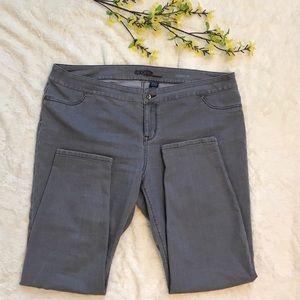 Eloquii Denim - Gray Eloquii Skinny Jeans