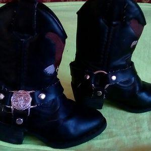 kids harley davidson boots | Kids