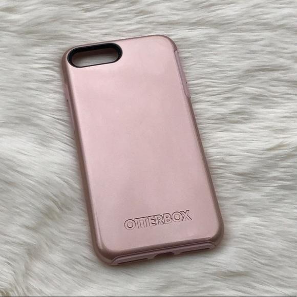 hot sale online 408d4 d46ff NEW iPhone 7 Plus Rose Gold Otterbox Phone Case