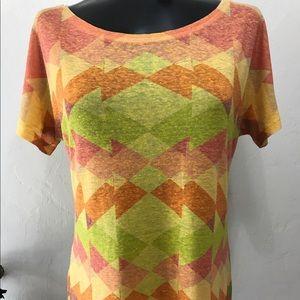 Custo Barcelona Tops - Custo Barcelona Asymmetrical T-Shirt